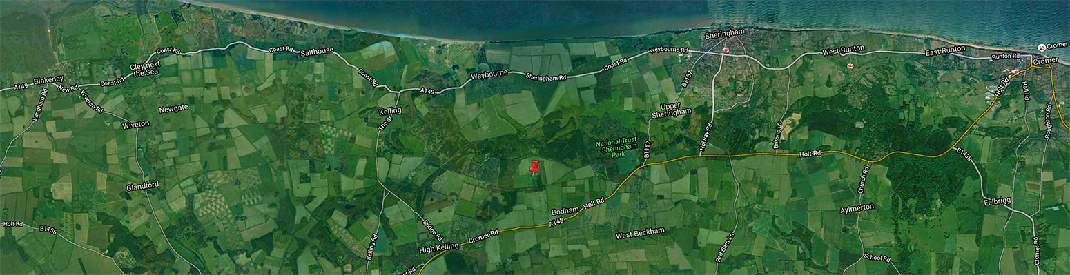 Finding Breck Farm in Weybourne